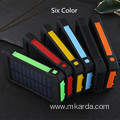 Solar Power 2000mAh External Dual Ports Powerbank