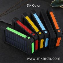 Europe style for Compact Power Bank 20000mAh Solar Lithium Power bank export to Sierra Leone Exporter