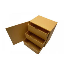 Cardboard Three Ply Small Drawer Box For Packaging