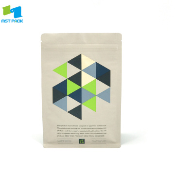 Biodegradable custom printed resealable bags