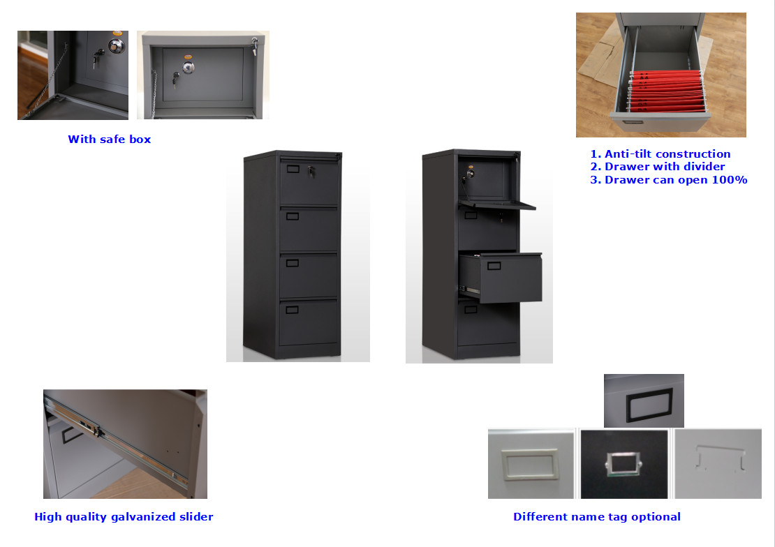 file cabinet with safe box