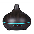 Wood Grain Ultrasonic Aroma Humidifier Air Mist Aromatherapy