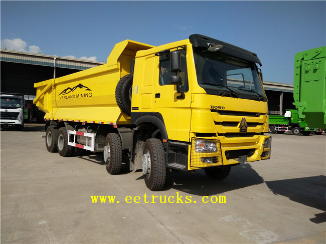 12 Wheeler Sand Tipper Trucks