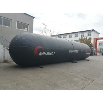 Safe Black Rubber Marine Salvage Lift Airbags