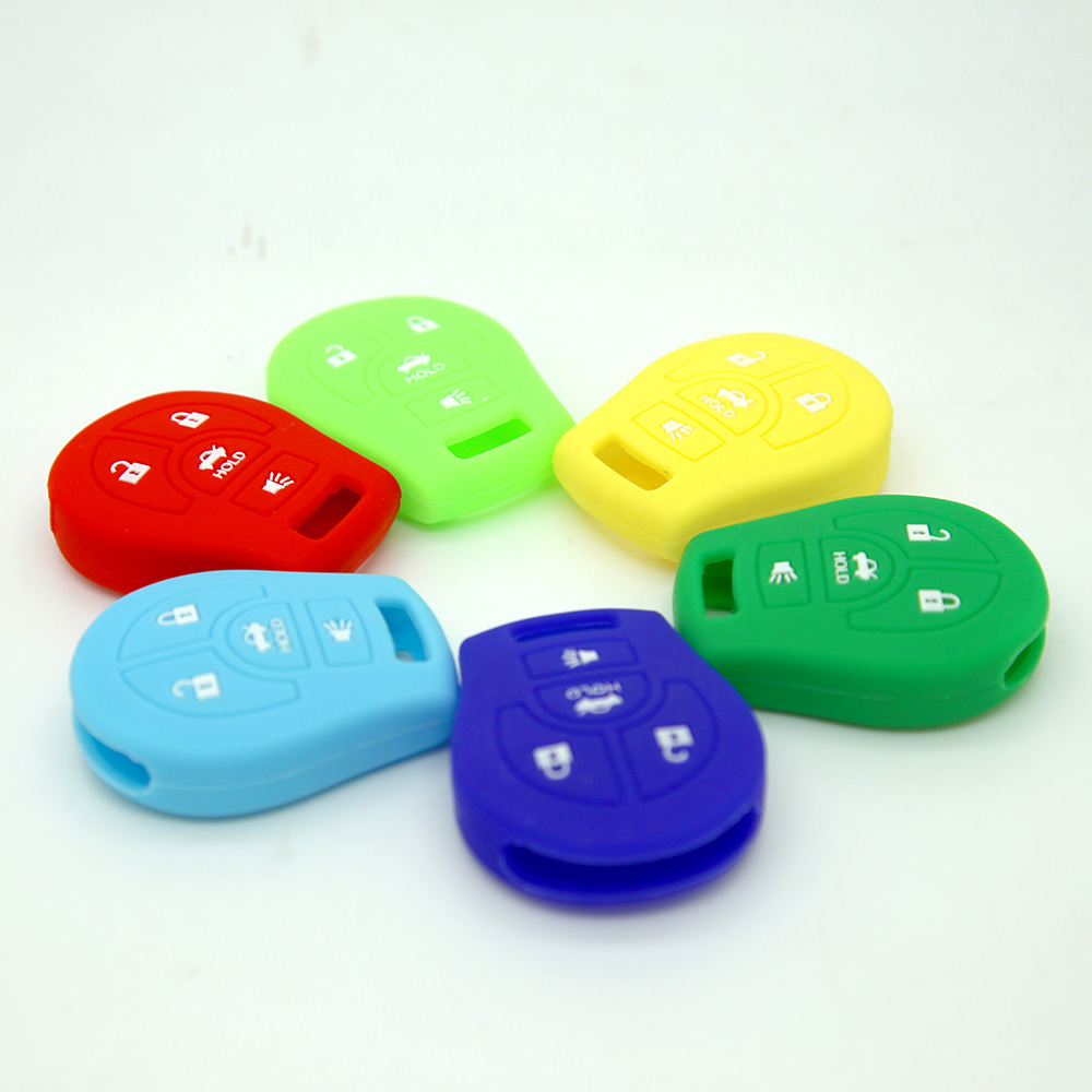 Silicon Key Cover For Nissan 4 Buttons