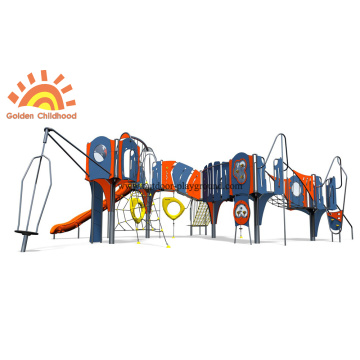 HPL Play Climbing Panel Net Slide Equipment