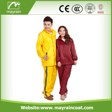 Wholesale Motorcycle Waterproof Fabric Rain Suit