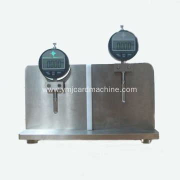Smart Card Size Height and Width Measuring Tool