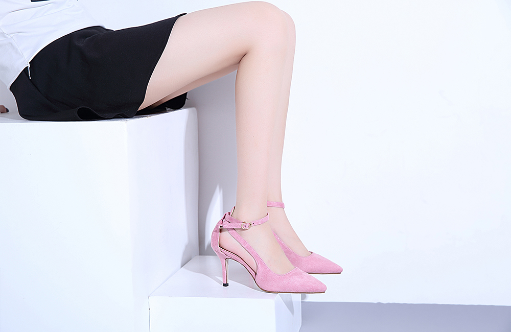Slender Heel Pumps