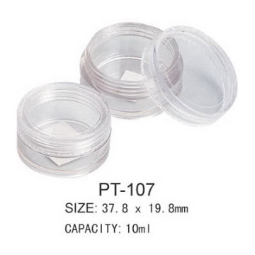OEM manufacturer custom for Cosmetic Container Cosmetic Pot PT-107 export to Madagascar Manufacturer