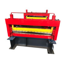 Best Quality for China Roof And Wall Panel Roll Forming Machine,Aluminium Roof Tiles Making Machine,Wall Panel Roll Forming Machine Manufacturer Red metal flattening machine export to Libya Supplier