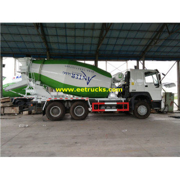 SINOTRUK 6x4 12cbm Cement Mixer Trucks