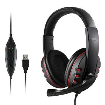 Gaming Headset  for Laptop MobilePhones Tablet
