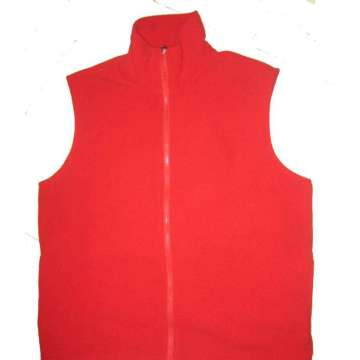Warm mens winter padded vest