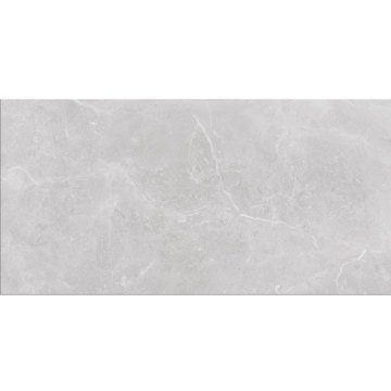 Marble look matt floor grey tile slab
