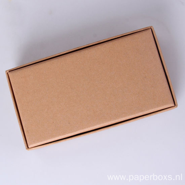 Kraft Paper Carboard Gift Boxes with PVC Window