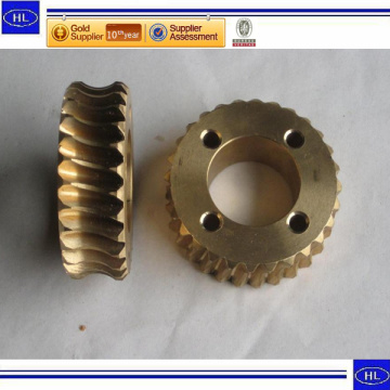 Custom Made Bronze Casting Parts dengan Mesin CNC