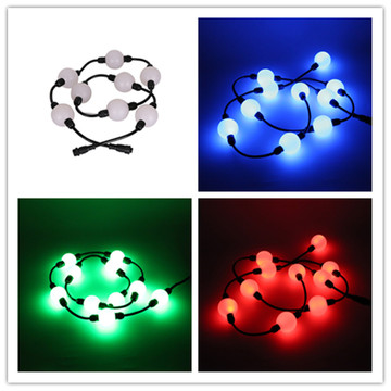 Outdoor Christmas Led Chain 3D Ball String 15V