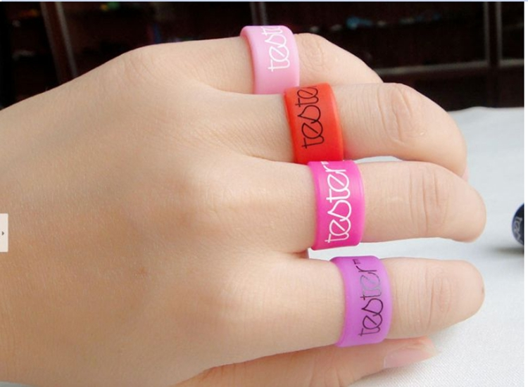Printed Silicone Finger Ring