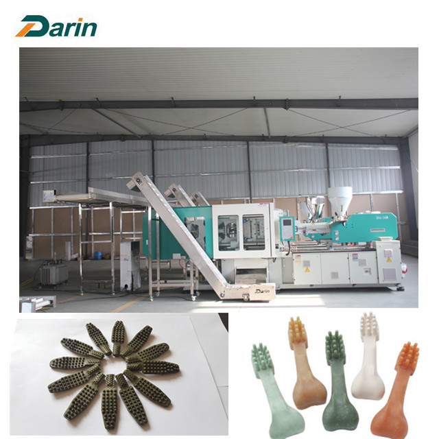 Pet chewing bone forming machine