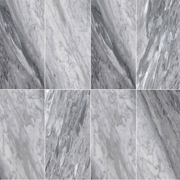 Install marble tile backsplash carrera stone chevron tile