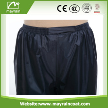 Adult Sport Wear black and blue Polyester Pants
