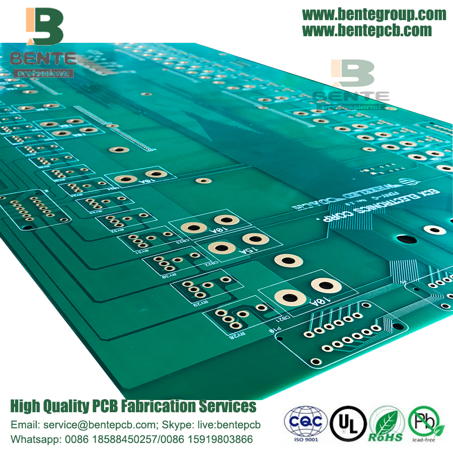 China Enig 2 Layers Pcb Fr4 Tg135 Thick Copper Manufacturers Multilayer Manufacturer Ul Rohs Ourpcb Email To This Supplier