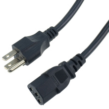 US 1.2M C13 AC Power leads Cable