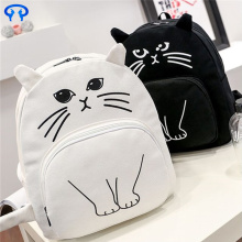 Canvas casual cat casual backpack