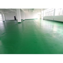 Factory colored solvent-free epoxy intermediate coating