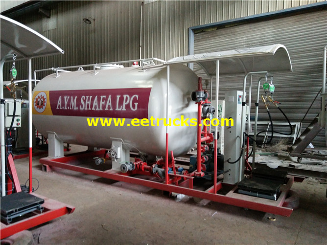6ton Mobile Skid Propane Stations