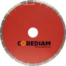Good Quality for Stone Blade Laser Welded Segmented Granite Disc supply to Italy Factories