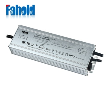 160W waterproof LED power driver IP67