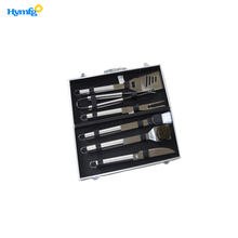 6-Piece Accessories Aluminum  Case BBQ
