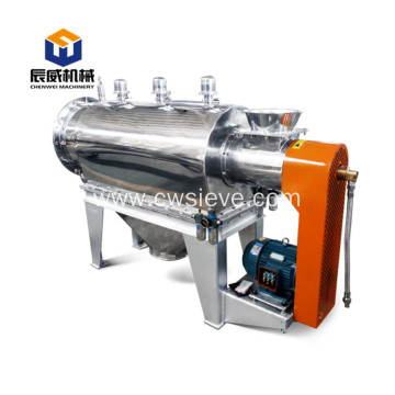 low noise centrifugal sieve for sawdust