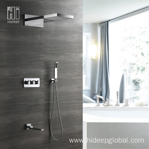 Short Lead Time for Shower Mixer Faucet Wall Mounted Four Function Concealed Shower Faucet export to Indonesia Exporter
