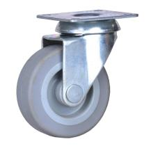 High quality factory for China 2'' Wheel Plate Casters,Twin Wheel Casters,Pp Wheel Caster Supplier 2 inch plate caster with TPE wheels export to Algeria Supplier