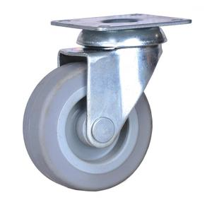 2 inch plate caster with TPE wheels
