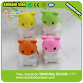 animal set hamster puzzle rubbers for students