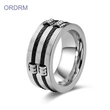 Design Your Own Men's Cable Rings Fine Jewelry