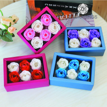 Square PVC Flower Packaging Box for Sale