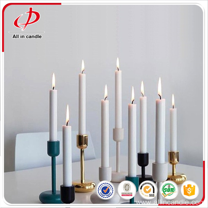 Cheap White Christmas Candle Decorations