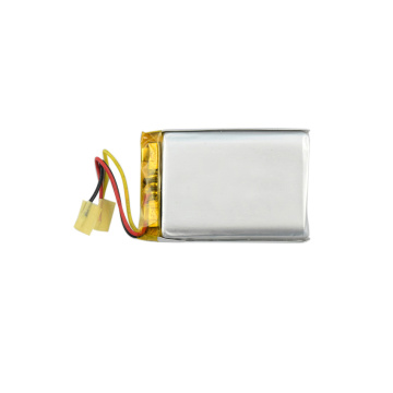 Rechargeable polymer battery 723450 3.7V 1200mAh with PCB