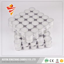 Wholesale white tea light candle to Dubai