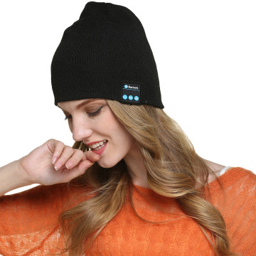 Bluetooth Wireless Beanie Headset Musical Knitted Hat