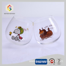 Best Quality for Stemless Wine Glass, Wine Glasses, Stemless Wine Glasses, White Wine Glasses Wholesale From China lead free clear crystal stemless wine glasses supply to Russian Federation Manufacturers