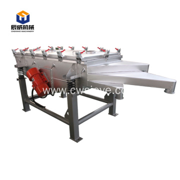 new linear vibrating screen sieve exported to worldwide