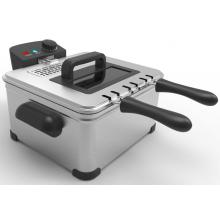 Leading for Household Electric Deep Fryer Electric Deep Fryer Large Capacity export to China Hong Kong Exporter