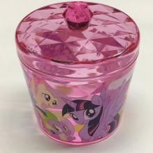 Plastic round storage box