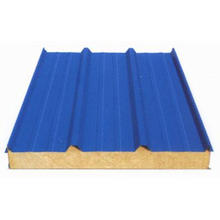 Rock Wool Sandwich Panel For Roofing